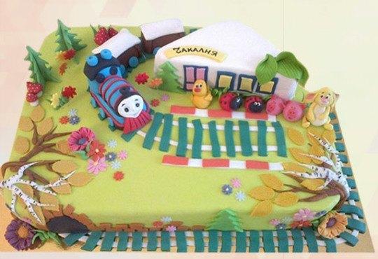 Детска 3D торта с фигурална ръчно изработена декорация от Сладкарница Джорджо Джани! - Снимка 5