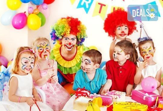 2 часа детски рожден ден с включено меню, DJ, парти-аниматор, торта, украса и много, танци и игри в Р-т Бадемова къща - Снимка 5