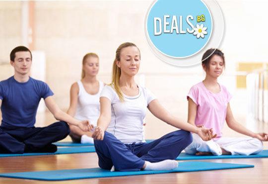 Постигнете хармония със себе си! Карта за 3 или 6 посещения по 50 минути йога от Йога и масажи Айя! - Снимка 3