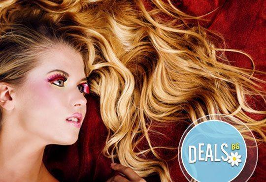 Цветни празници в Студио DIELS! Кичури Балеаж на всяка дължина на косата + терапия с маска и стилизиране на прическа! - Снимка 2