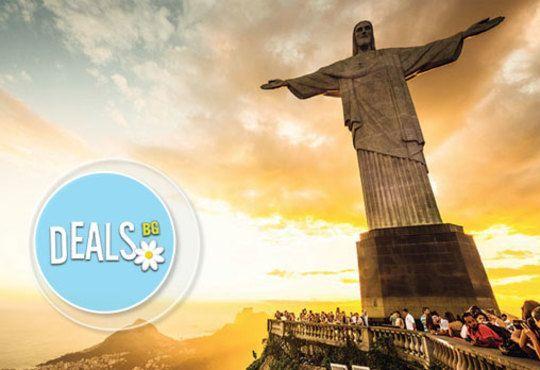 Last minute Рио де Жанейро, Бразилия! 6 нощувки в Оceano Copacabana 4* със закуски, самолетен билет, трансфери и водач! - Снимка 1