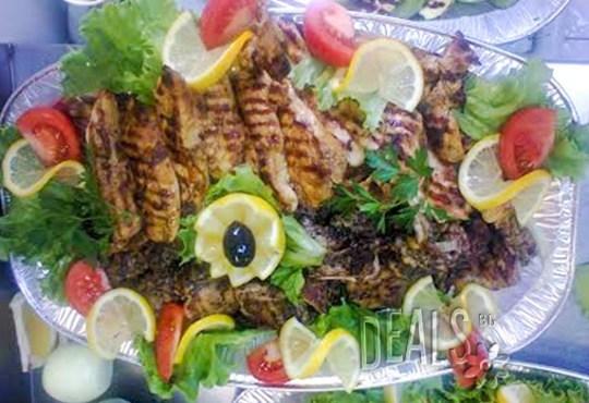 Сръбска скара на дървени въглища 1.500 кг. + гарнитура картофки 0.400 кг. и безплатна доставка от Кулинарна къща НИКИ - Снимка 3