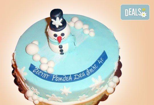 Весела Коледа! 3D Коледно - Новогодишна торта за празниците от Сладкарница Джорджо Джани - Снимка 9