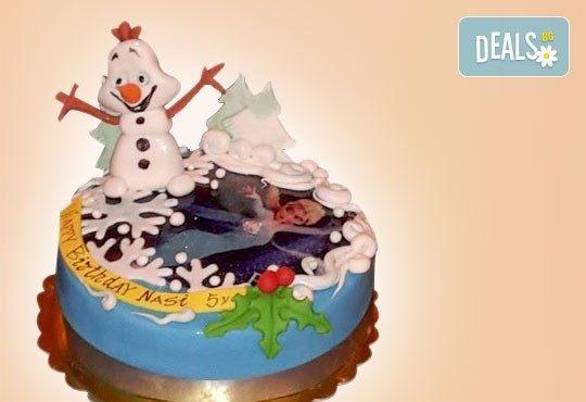 Весела Коледа! 3D Коледно - Новогодишна торта за празниците от Сладкарница Джорджо Джани - Снимка 4