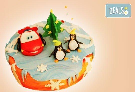 Весела Коледа! 3D Коледно - Новогодишна торта за празниците от Сладкарница Джорджо Джани - Снимка 3