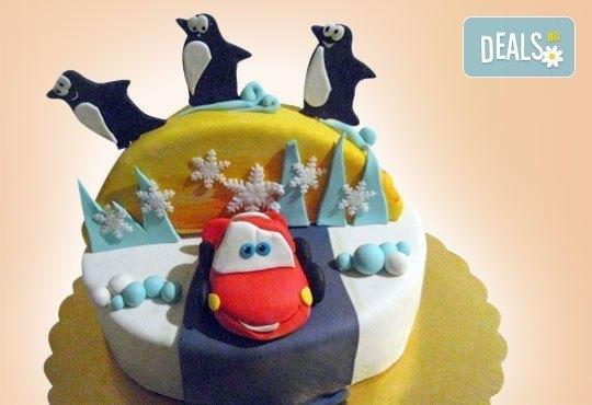 Весела Коледа! 3D Коледно - Новогодишна торта за празниците от Сладкарница Джорджо Джани - Снимка 7