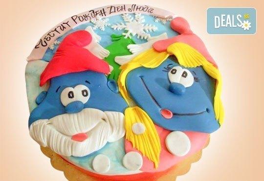 Весела Коледа! 3D Коледно - Новогодишна торта за празниците от Сладкарница Джорджо Джани - Снимка 8