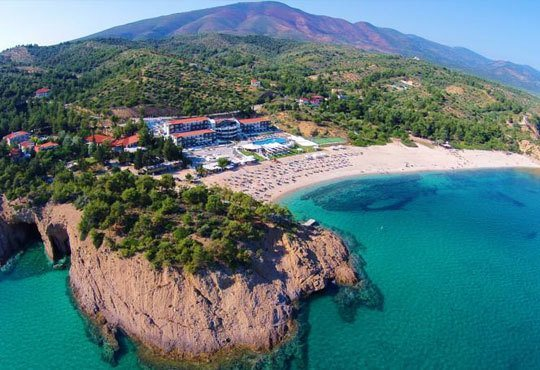 Нова година в Blue Dream Palace 4*, о. Тасос, Гърция! 3 нощувки, 3 закуски, 2 вечери и празнична вечеря от Океания Турс! - Снимка 2