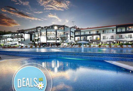 Нова година в Blue Dream Palace 4*, о. Тасос, Гърция! 3 нощувки, 3 закуски, 2 вечери и празнична вечеря от Океания Турс! - Снимка 1