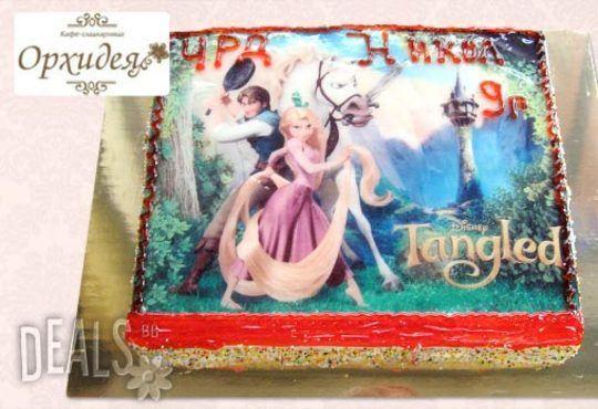 Зарадвайте детето с торта Мики Маус или с фотоснимка на любим приказен герой от Сладкарница Орхидея - Снимка 10