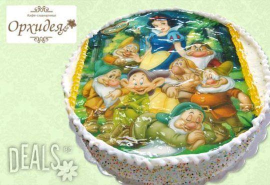 Зарадвайте детето с торта Мики Маус или с фотоснимка на любим приказен герой от Сладкарница Орхидея - Снимка 9