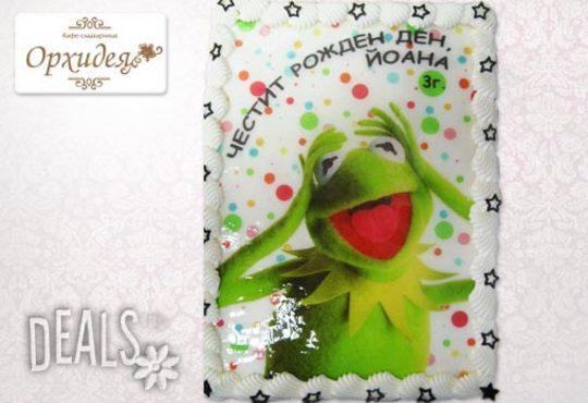 Зарадвайте детето с торта Мики Маус или с фотоснимка на любим приказен герой от Сладкарница Орхидея - Снимка 8
