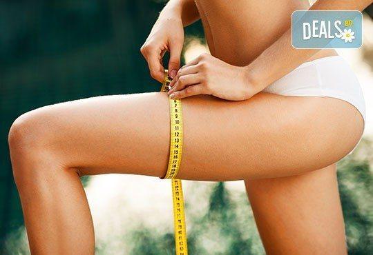 Край на излишните килограми с 1 или 10 процедури целутрон на цяло тяло в Център за масажи Люлин - Снимка 2