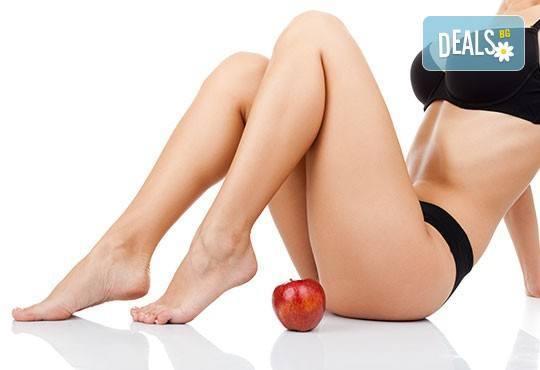 Край на излишните килограми с 1 или 10 процедури целутрон на цяло тяло в Център за масажи Люлин - Снимка 3