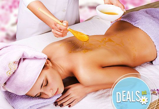 Кажете Сбогом на болките в гърба! Лечебен масаж на гръб или детоксикиращ масаж на гръб с мед от ADI'S Beauty & SPA - Снимка 1