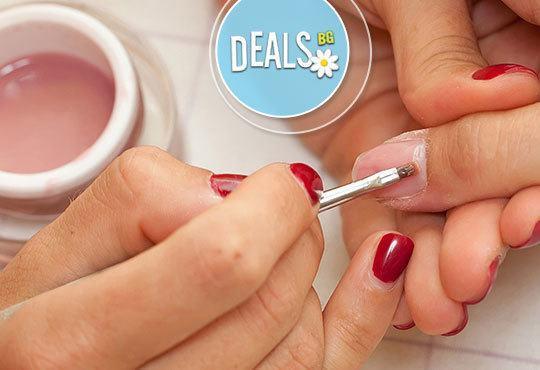 За перфектни ръце! Поставяне на гел върху етествен нокът и/или маникюр с лак или гел лак на CND в салон Косабелла! - Снимка 2