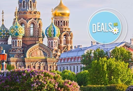 Ранни записвания 2016! Екскурзия до Санкт Петербург, Русия! 7 нощувки, закуски, вечери, самолетен билет и тур до Пушкин! - Снимка 1