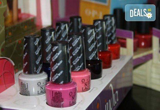 За стилна визия! Маникюр с дълготраен гел лак BlueSky в цвят по избор в студио за красота Noir! - Снимка 4