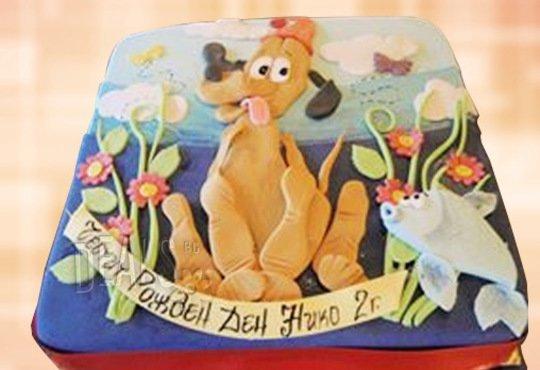 Детска АРТ торта с фигурална ръчно изработена декорация с любими на децата герои от Сладкарница Джорджо Джани - Снимка 39