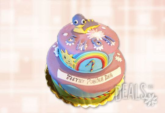 Детска АРТ торта с фигурална ръчно изработена декорация с любими на децата герои от Сладкарница Джорджо Джани - Снимка 18
