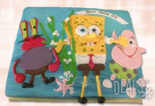 Детска АРТ торта с фигурална ръчно изработена декорация с любими на децата герои от Сладкарница Джорджо Джани - Снимка 33