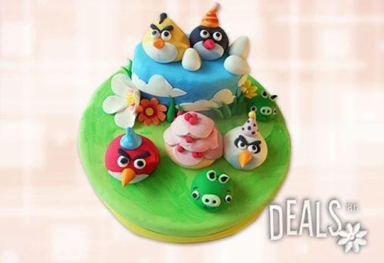Детска АРТ торта с фигурална ръчно изработена декорация с любими на децата герои от Сладкарница Джорджо Джани - Снимка 21