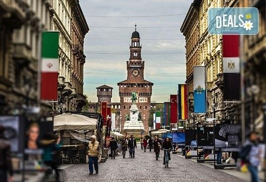На шопинг в Милано, Италия в период по избор! 3 нощувки, самолетен билет, летищни такси и медицинска застраховка! - Снимка 2