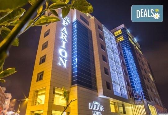 Посрещнете Нова година сред изискания лукс на Hotel Parion 5*, Чанаккале: 3 нощувки, 3 закуски и 2 вечери, Лъки Холидей - Снимка 1