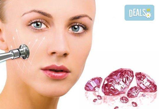 Диамантено микродермабразио на лице и неинжективна мезотерапия с хиалуронова киселина в салон за красота Giro! - Снимка 4