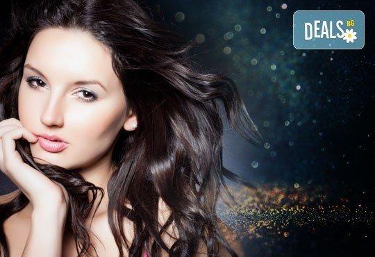 Златна възможност за Вашата коса! Златна терапия 24K Gold от център Енигма в София, Пловдив, Варна, Хасково - Снимка 1