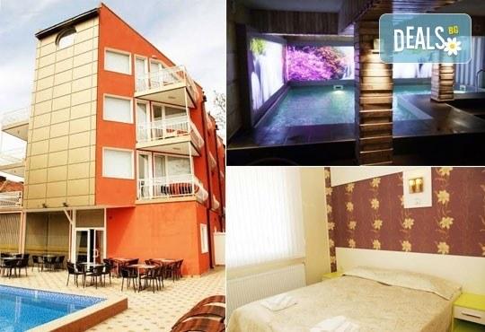 Релаксирайте пълноценно в Хотел Виа Лакус 3*, Сапарева баня! 1 нощувка със закуска и вечеря, СПА зона с минерален басейн - Снимка 1