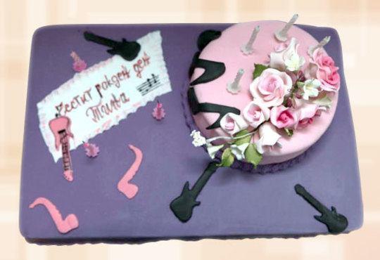 Празнична торта с пъстри цветя, дизайн на Сладкарница Джорджо Джани - Снимка 17