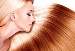 Трайно изправяне с кератин по технологията и с продуктите на Christian of Roma за всякакъв тип коса в салон Flowers! - Снимка