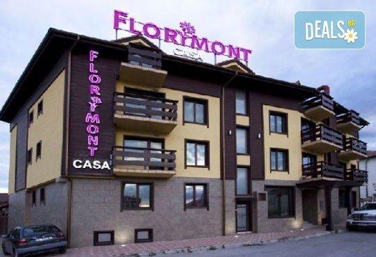 Зимна почивка във Флоримонт Каса 3*, Банско: 1 нощувка със закуска, вечеря и СПА, период по избор от Молина Травел - Снимка 1