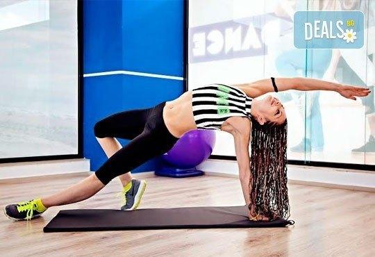5 или 10 тренировки по избор - Pilates, Steel Tonic, Fitt Ball или Step Aerobic от Божествени тела-Аеробик спорт! - Снимка 1