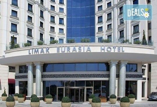 Петзвездна Нова година в Limak Eurasia Luxury Hotel 5*, Истанбул, Турция! 2/3 нощувки със закуски и вечери по избор! - Снимка 1