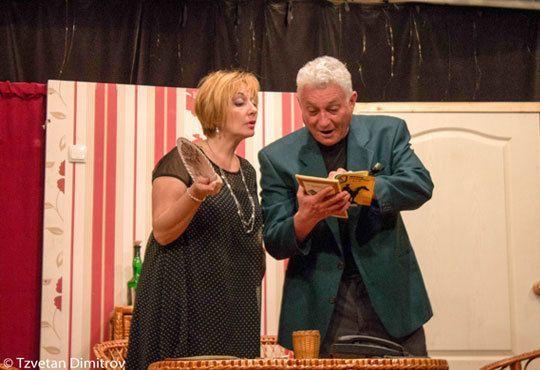 Гледайте щурата комедия Луда нощ по френски на 03.12. от 19ч. в Театър Сълза и смях Открита сцена - Снимка 4