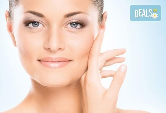 За сияйна кожа! Ултразвуково почистване и разкрасяваща терапия с козметика на Glory в салон за красота Vision! - Снимка 2