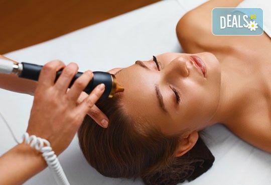 За сияйна кожа! Ултразвуково почистване и разкрасяваща терапия с козметика на Glory в салон за красота Vision! - Снимка 1