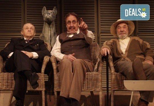 Гледайте Стефан Мавродиев в комедията Вятър в тополите, Младежки театър, камерна сцена на 22 декември от 19.00 ч. - Снимка 1