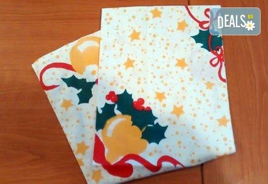 За Новата година - качество без компромис! Хавлиена кърпа, 100 х150 см, 100% памук, 450 г/м2, бял цвят от ЕСА Корпорация - Снимка 2