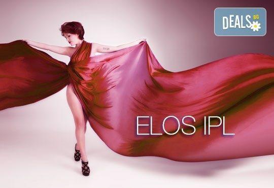 Радвай се на гладка кожа завинаги! Единична процедура ELOS IPL + RF фотоепилация на зони по избор от студио Sunny Life - Снимка 1