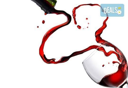 Доставки по домовете! Две големи пици и бутилка бяло или червено вино с доставка от Кулинарна къща НИКИ - Снимка 4
