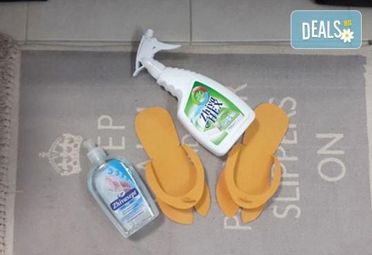 Подстригване, измиване с висок клас продукти, маска според типа коса, стилизиращ продукт и подсушаване в салон Дежа Вю - Снимка 9