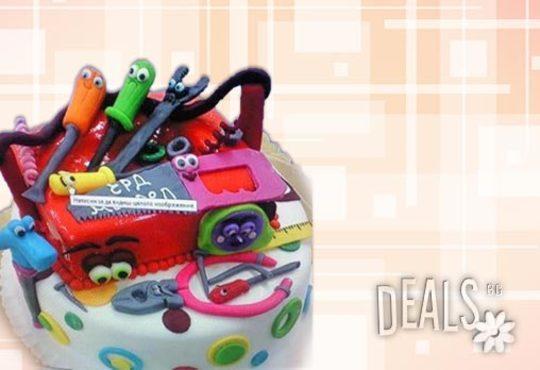 Детска 3D торта с фигурална ръчно изработена декорация от Сладкарница Джорджо Джани! - Снимка 12