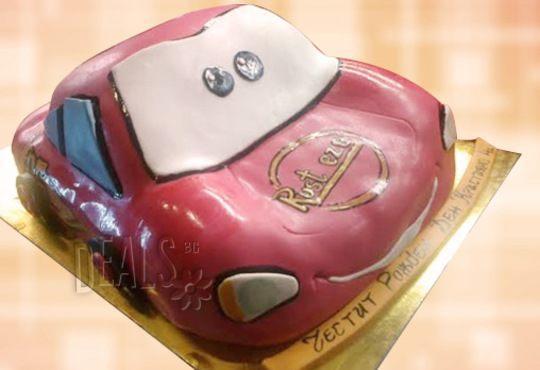 Детска 3D торта с фигурална ръчно изработена декорация от Сладкарница Джорджо Джани! - Снимка 6