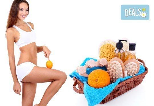 Антицелулитен масаж на ДВЕ зони по избор + криотерапия на третираните зони в Bona Dea Fashion Studio - Снимка 1