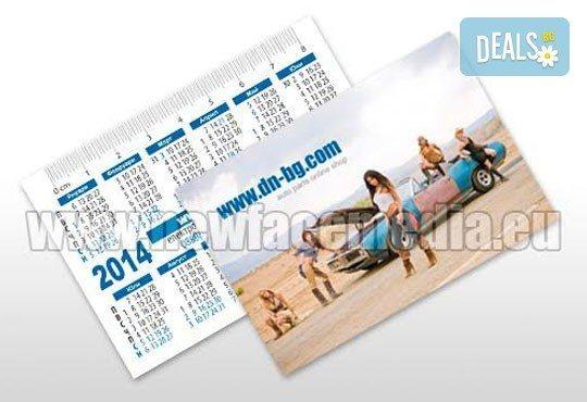 500 или 1 000 луксозни джобни календарчета за 2016 година с UV лак от New Face Media - Снимка 9