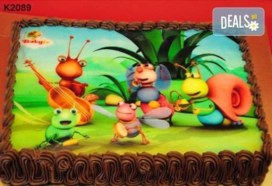Запомнящ се рожден ден! Вкусна торта /избор от 29 картинки/ и пълнеж по избор от Виенски салон Лагуна! Предплати 1лв! - Снимка 10