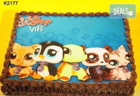 Запомнящ се рожден ден! Вкусна торта /избор от 29 картинки/ и пълнеж по избор от Виенски салон Лагуна! Предплати 1лв! - Снимка 12